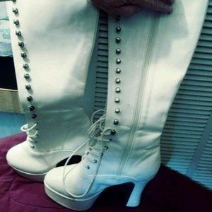 Funtasma High Heel Knee Boots
